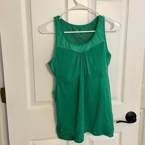 Athleta Supercharged support tank green